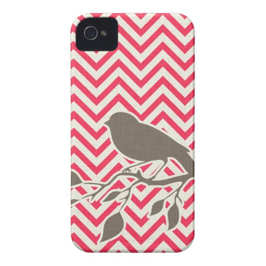 Bird & Chevron iPhone Case