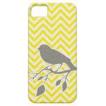 Bird & Chevron iPhone Case iPhone 5 Cover