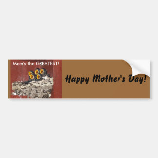 Bird Choir Sings for Mom on Mother s Day Bumper Sticker