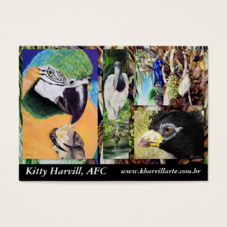 Bird Collage Business Card