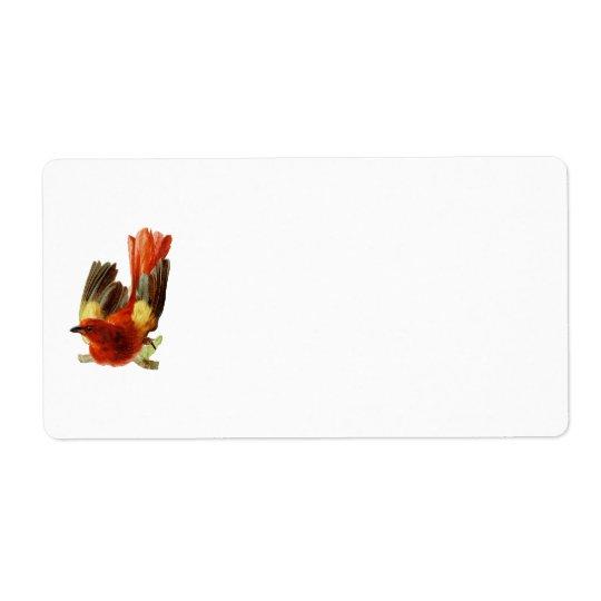 Bird Collection-Name Tag