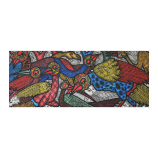 Bird conference canvas print