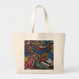 Bird conference jumbo tote bag