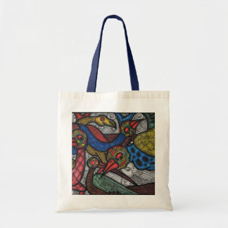 Bird conference tote bag