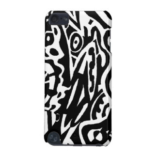 """""""Bird Creature"""" B&W Abstract iPod Touch 5G Cases"""