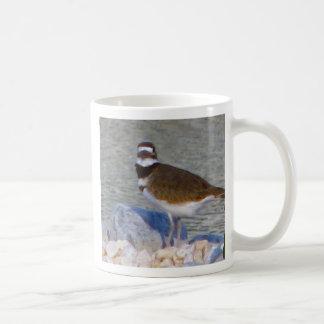 bird cup basic white mug