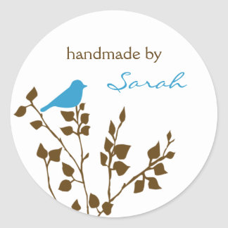 Bird Custom Name Stickers