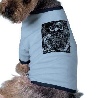 Bird dragon doggie tee shirt