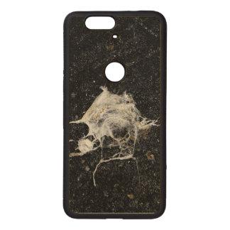 Bird Dropping Funny and Cool Wood Nexus 6P Case