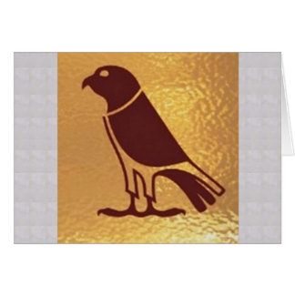 BIRD Eagle wild zoo Artistic Giveaway Novelty Greeting Card