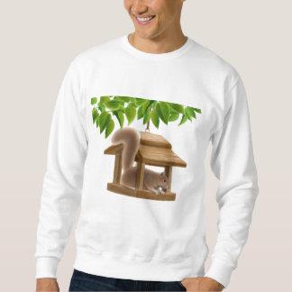 Bird Feeder Squirrel Sweatshirt