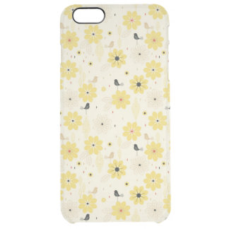 Bird Garden Clear iPhone 6 Plus Case