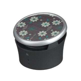 Bird Garden Pattern Bluetooth Speaker