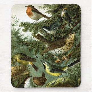 Bird group 3 mouse pad