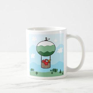 Bird Hot Air Ballon - Mug