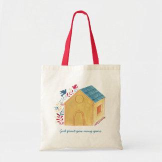 Bird house Tote