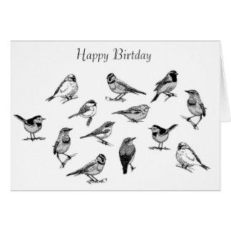 Bird image for birthday-greeting-card card