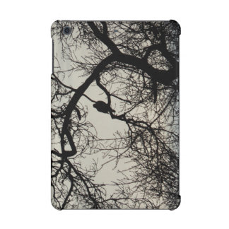 Bird in a tree silhouette Design
