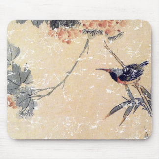 Bird in Bamboo Mouse Mat