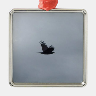 Bird in Flight Christmas Ornament