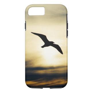 Bird in flight iPhone 7 case