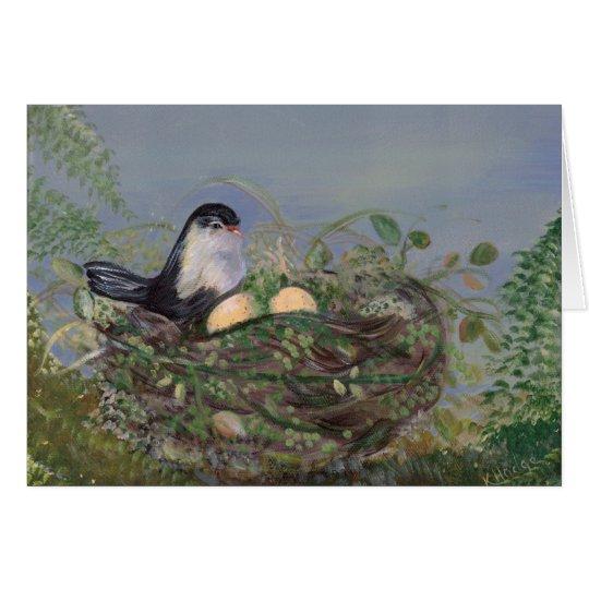 Bird in Nest Card