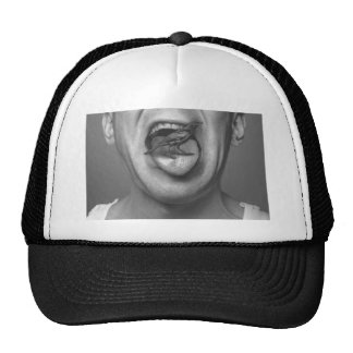 Bird in the mouth cap