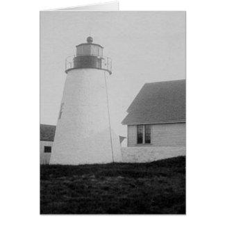 Bird Island Lighthouse Greeting Card