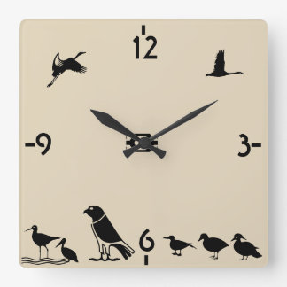 Bird Island Wallclock