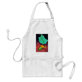 Bird Knitting Nest Standard Apron