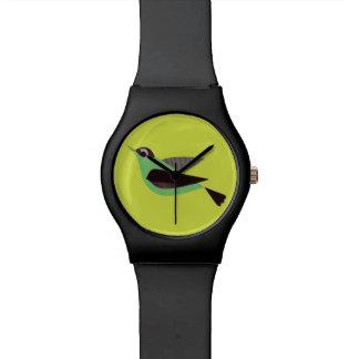 Bird - Lime Green Watch
