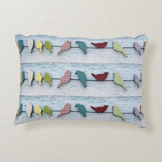 Bird Line Decorative Pillow