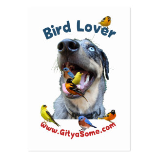Bird Lover Dog Business Cards