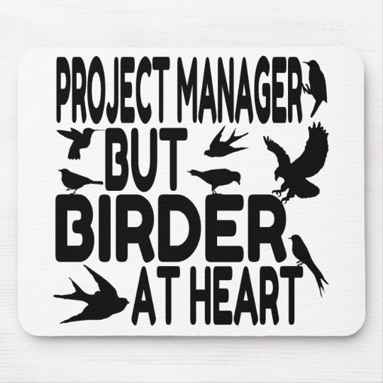 Bird Lover Project Manager Mouse Mat