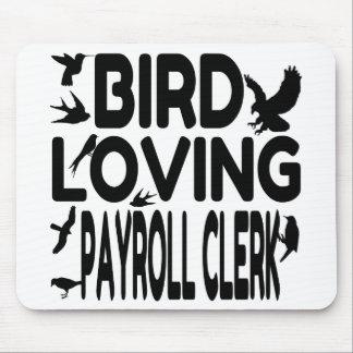 Bird Loving Payroll Clerk Mouse Mat