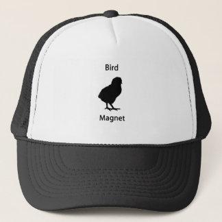 bird magnet trucker hat
