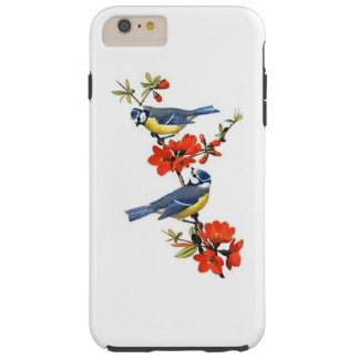 Bird Motif Tough iPhone 6 Plus Case