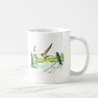 Bird Mug - Barn Swallow