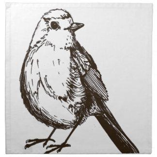 Bird Cloth Napkin