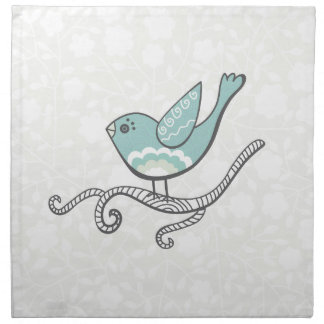Bird Printed Napkins
