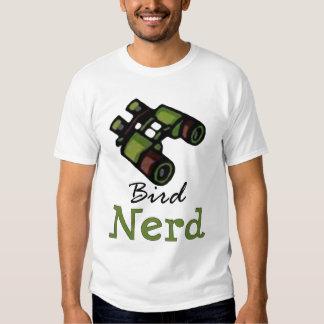 Bird Nerd Ornithology Tee Shirt