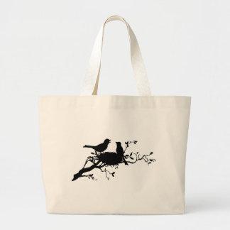 Bird Nest Jumbo Tote Bag