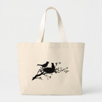 Bird Nest Large Tote Bag