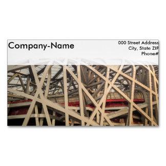 Bird Nest Stadium Magnetic Business Cards