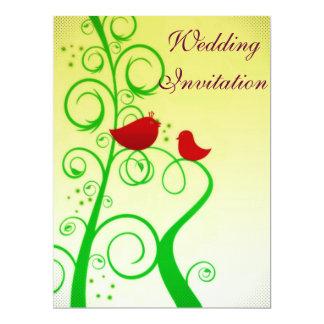 Bird of Faith ! 17 Cm X 22 Cm Invitation Card