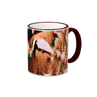 Bird of Mars Ringer Mug