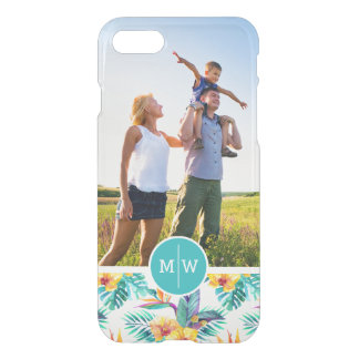 Bird Of Paradise | Add Your Photo & Monogram iPhone 7 Case