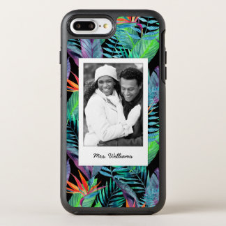 Bird Of Paradise | Add Your Photo & Name OtterBox Symmetry iPhone 7 Plus Case