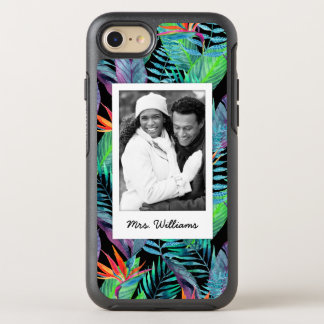 Bird Of Paradise | Add Your Photo & Name OtterBox Symmetry iPhone 8/7 Case