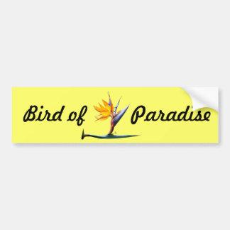 Bird of Paradise Bumper Sticker